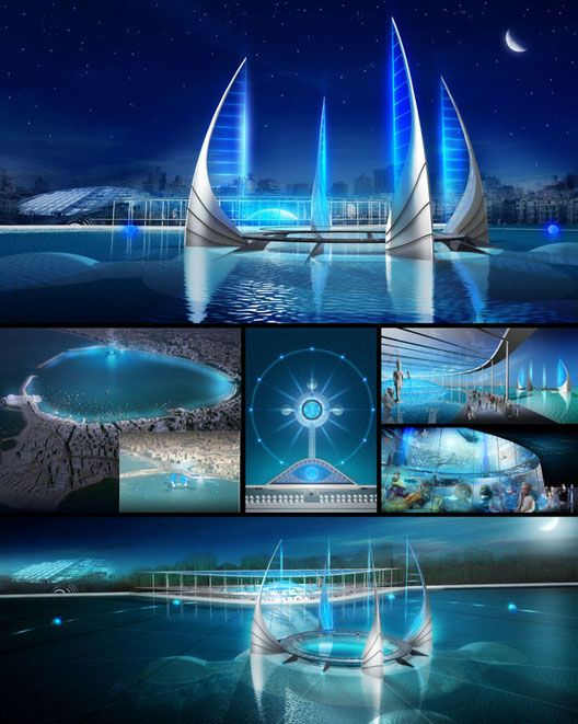 An underwater museum that would showcase submerged ruins. Just an idea from an architect but if this were ever made, it would be more then worth a visit