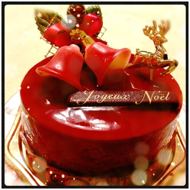 ヴィタメールのクリスマスケーキ♪( ´▽`)
