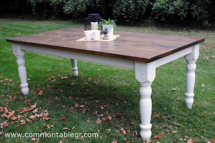 Farmhouse turned table by the common table in grand rapids for 65 farmhouse table