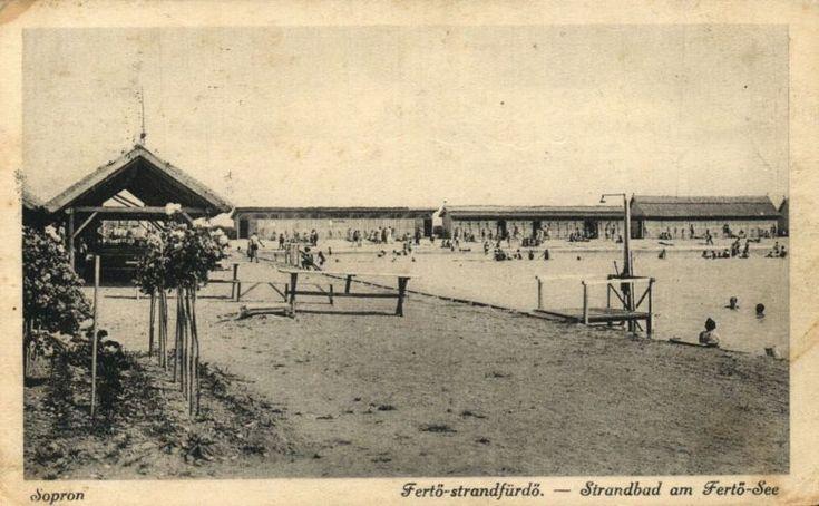 A régi Fertő-strandfürdő