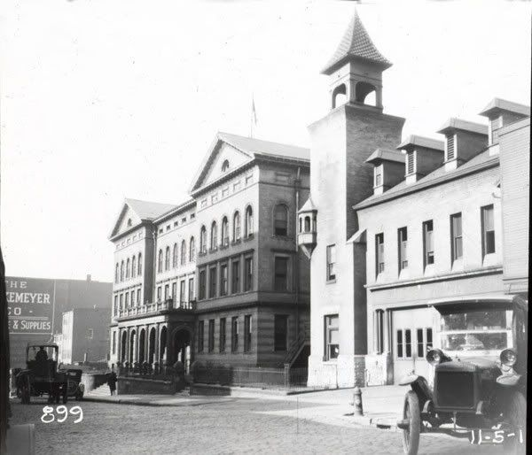 Central Police Station at Champlain and West 6th. 1922