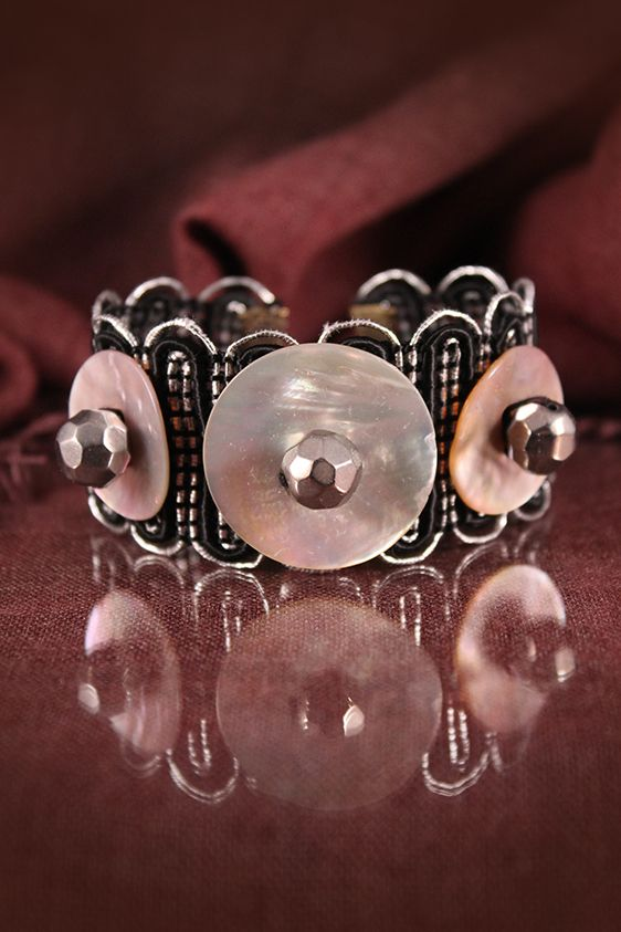 Mother of pearl bracelet by Lorien!