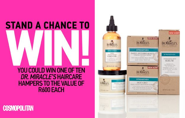 WIN a Haircare Hamper from Dr. Miracle's