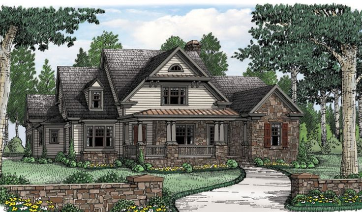 Southern Trace Home Plans And House Plans By Frank Betz