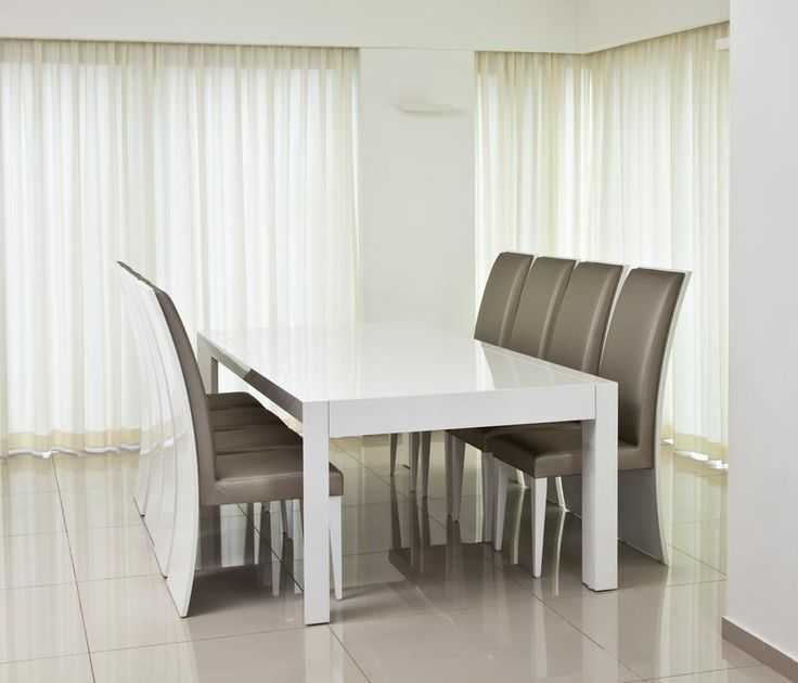 טוליפ פינת אוכל לבנה נפתחת ייצור שח רהיטים Tables And