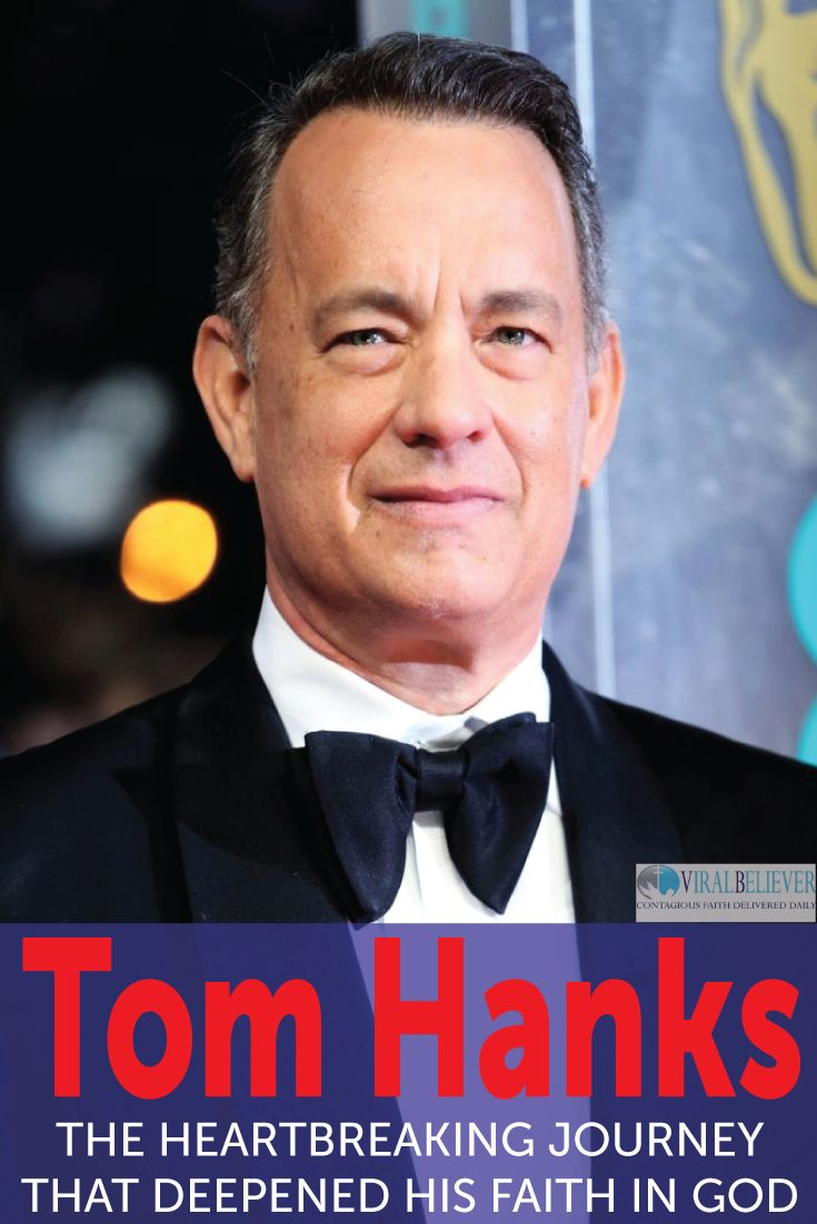"""Tom Hanks is well known for his starring roles in movies like """"You've Got Mail"""", """"Big"""", """"Toy Story"""", and my favorite """"Forrest Gump"""" but there's a part of Tom Hanks life many haven't seen."""