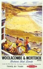 vintage train posters - coastal