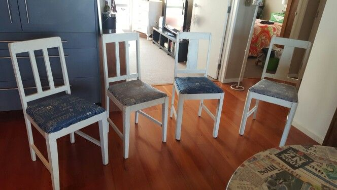 Finished my chairs at last
