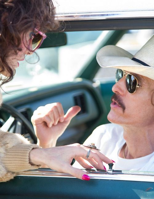 Dallas Buyers Club. I loved this movie so much, but had to find a photo that included Jared Leto because his performance was a thing of beauty.