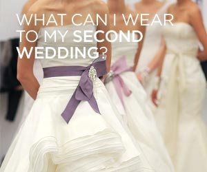 What color and type of dress is appropriate for my second for Appropriate wedding dresses for second marriage