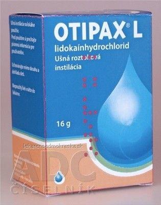 OTIPAX® L - int ots (fľ.skl.žltá)1x16 g