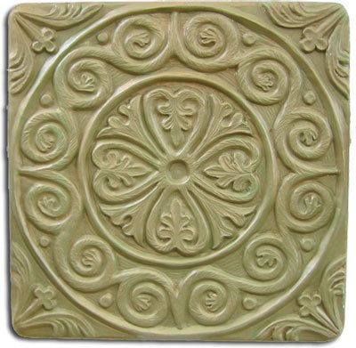 Medieval Tile Stepping Stone Mold by SaharasSupplies on Etsy, $24.95