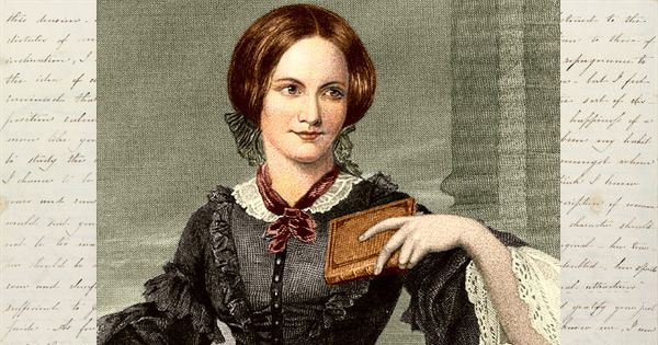 """Charlotte Bronte, """"one pays for outward calm with an almost unbearable inner struggle."""""""