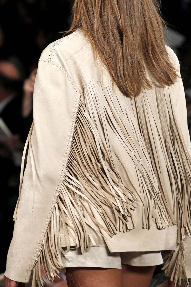 Ralph Lauren - Love this - still have my denim one with fringe from the 80s