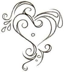 Heart, have had this one on my idea bpard for over a year from my next tattoo, thinking wrist or back of neck