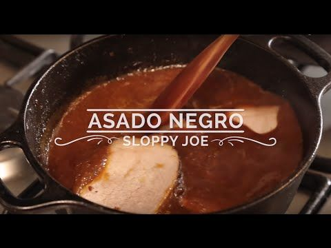 Asado Negro Sloppy Joe | Hispanic Kitchen