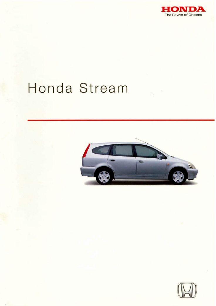 Honda Stream Mk1 Spain Brochure 2002
