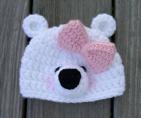 1000+ Ideas About Crochet Bear Hat On Pinterest