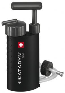 Katadyn Mini Ceramic Water Filter... perfect for the packpack...
