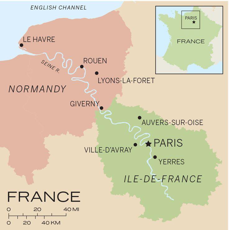 Travels Through the Ile-de-France and Normandy via @harpertravel