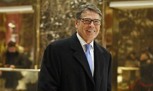 Rick Perry to be named energy secretary in department he pledged to scrap Donald Trump to announce former Texas governor as head of Department of Energy, the agency he forgot he wanted to abolish in 2011 'Oops' moment