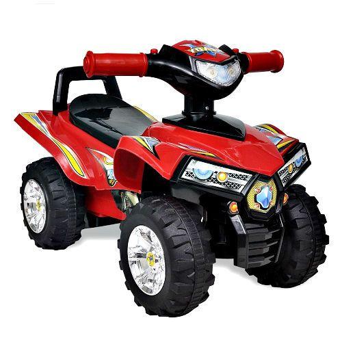 Kids Ride On Quad Bike Battery Children Red Car Sound Lighs Outdoor Driving Toy  #Unbranded #ChildrensRideonQuad
