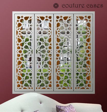 17 best ideas about window security on pinterest window - Decorative interior wall shutters ...