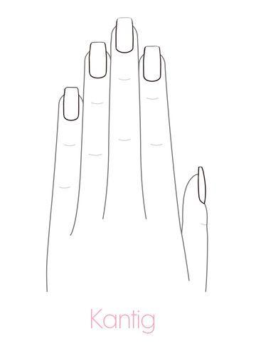 Nagelformen: Die passende Form für deine Nägel | ELLE