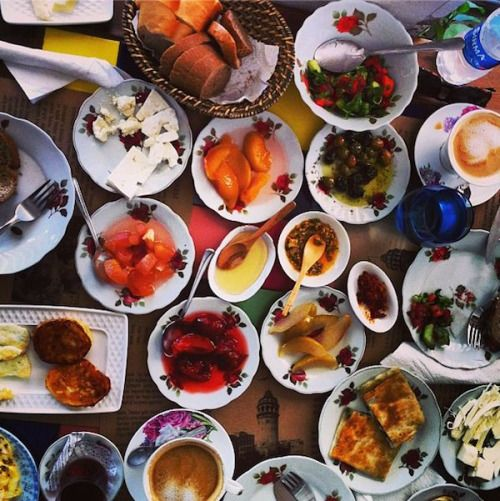 We've said it before and we'll say it again: #Cafe #Privato in #Galata has one of the best #Turkish #Village #Breakfasts in #Istanbul. #breakfast #turkishbreakfast #turkishfood #food #foodie #organic #cheese #homemade #jam