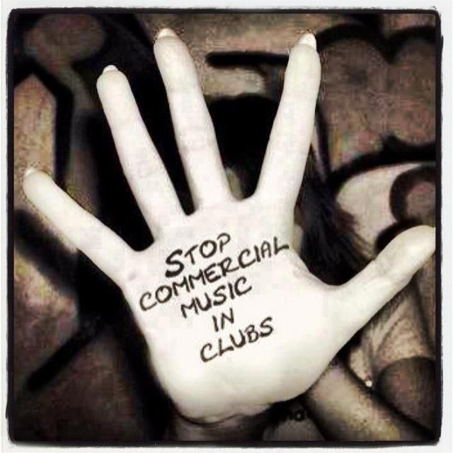 Stop Commercial Music in Clubs