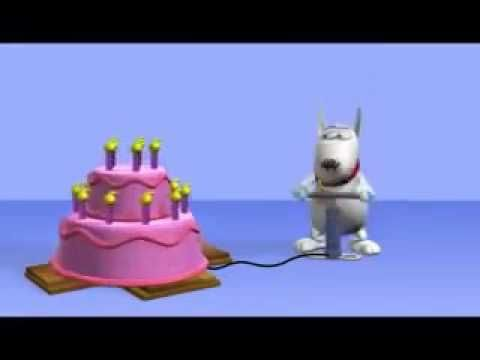 Candeline in marcia per auguri divertenti - Auguri.it - Kalinka - YouTube