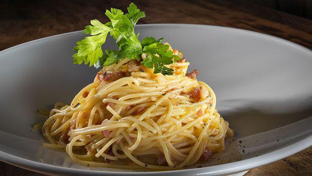 Pasta carbonara – recept