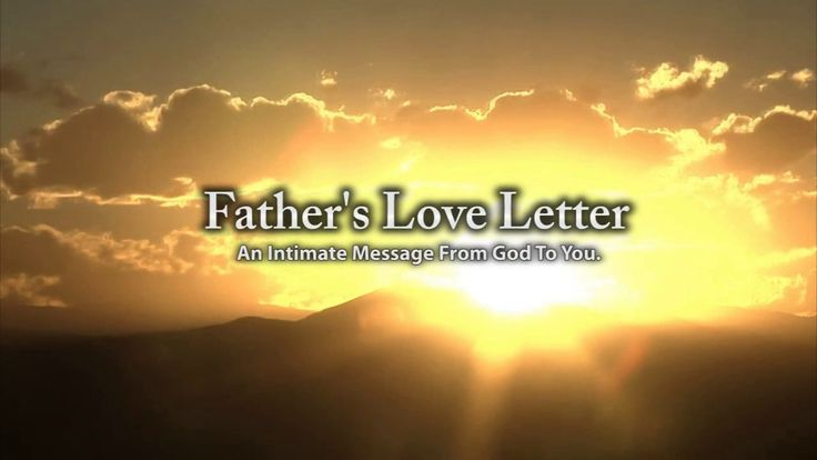 Father's Love Letter Video (Outreach Version)