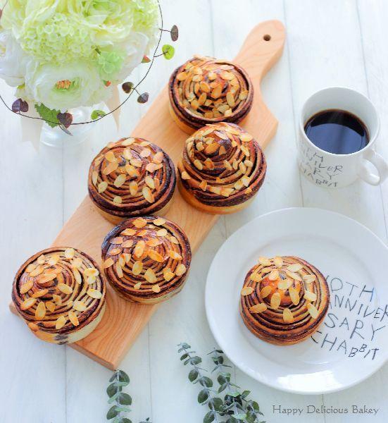 """手作りチョコシートでクルクルパン - はじめてでも簡単♪あいりおーの""""毎日つくりたくなる""""おうちパン レシピブログ -料理ブログのレシピ満載!"""