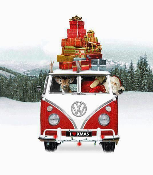 New Vw Bus Camper >> 87 best Have a Happy Kombi Christmas! images on Pinterest | Vw camper vans, Merry christmas and ...