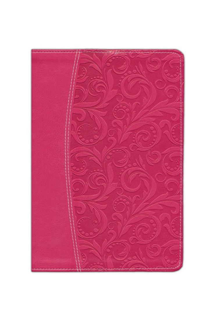 NIV Life Application Study Bible Indexed Honeysuckle Pink