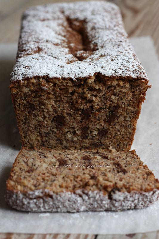 La ricetta della felicità: Cake rustico per riciclare le banane... senza glutine, senza burro, senza olio!