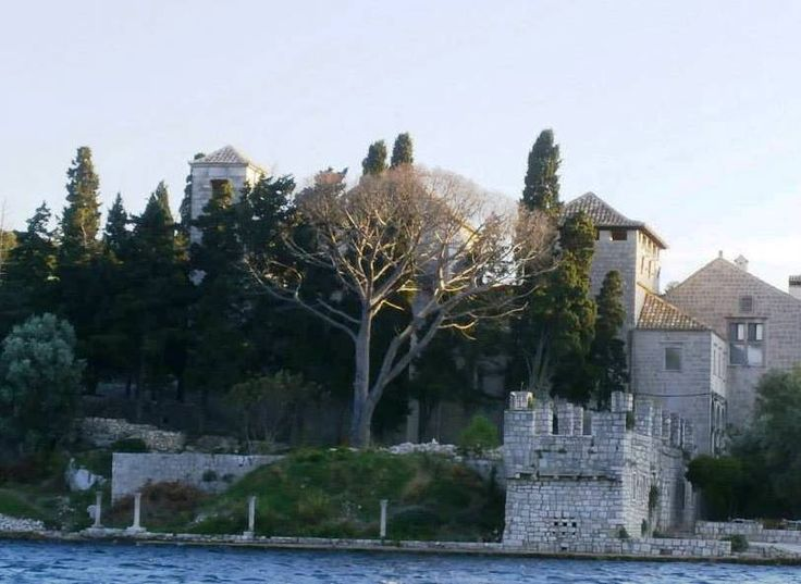 Benedictine Monastery on island Mljet, #Croatia