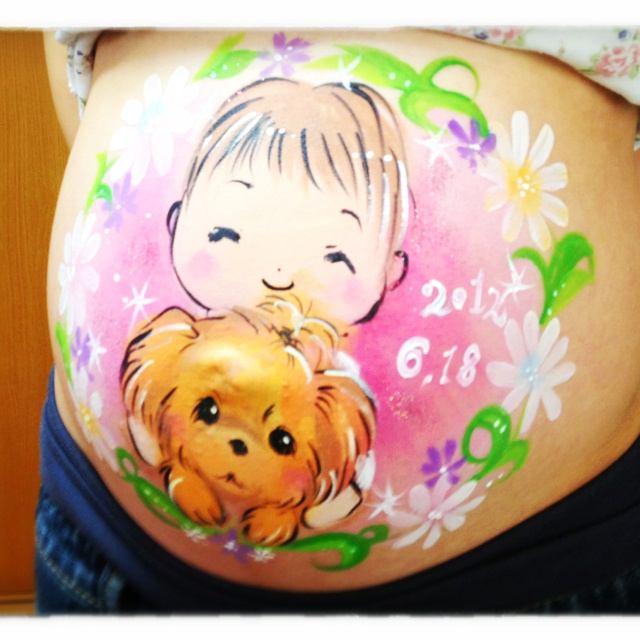 Belly paint☆