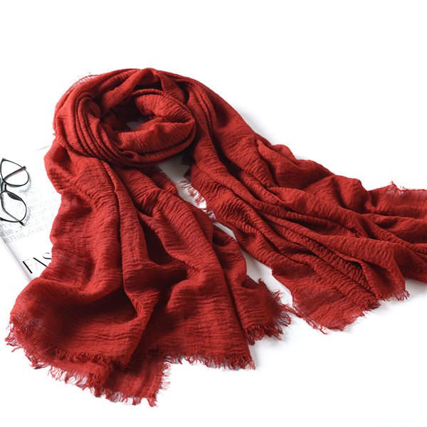 LYZA 200CM Winter Oversize Blanket Wrap Polyester Scarf Warm Shawl For Women Long Scarf at Banggood#women  #fashion #accessories