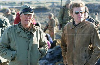 Kyle Eastwood and Clint Eastwood.