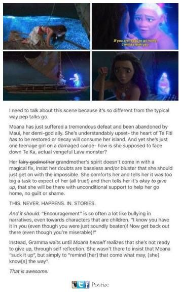 Mental Health I loooove Moana!! Everything is just so beautiful, the story, the songs and this scene is just ❤️❤️Awesome job Disney!!!!
