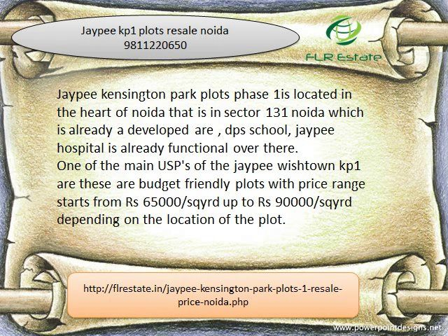 please call us 9811220750 jaypee Kensington park 1 plots wishtown Noida , plots in jaypee wishtown noida expressway, resale plots in jaypee noida
