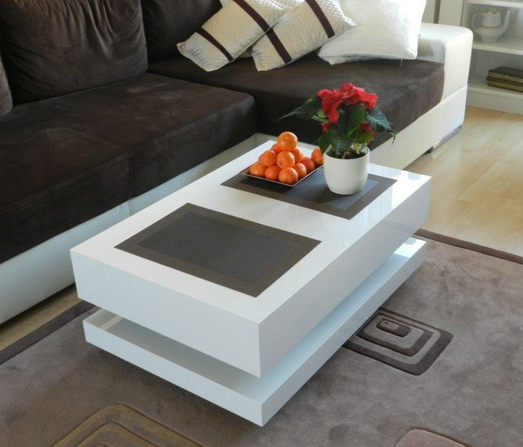 Ława Tora 120x90cm z płyty akrylowanej w wysokim połyski okiem klienta.  http://www.meblobranie.pl/stoliki-kawowe   #möbel #furniture - white Coffe table