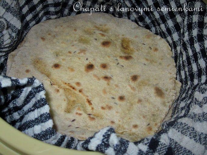 Recepty z Indie: Chapati s lanovym semienkom