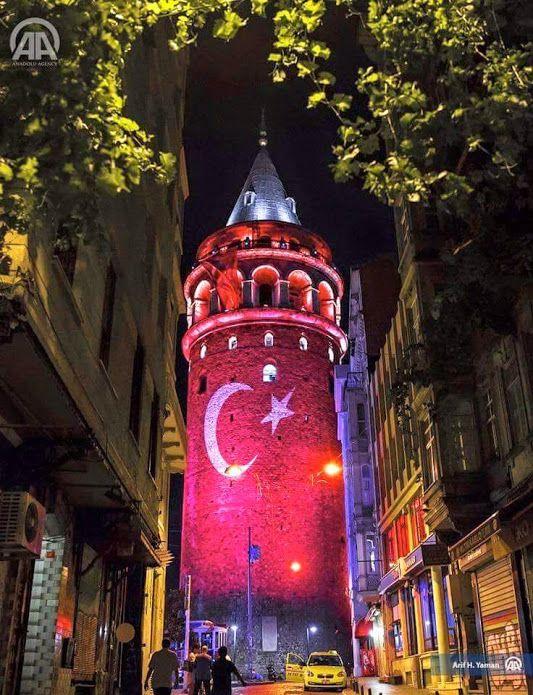 Galata kulesi, İstanbul. Türkiye.