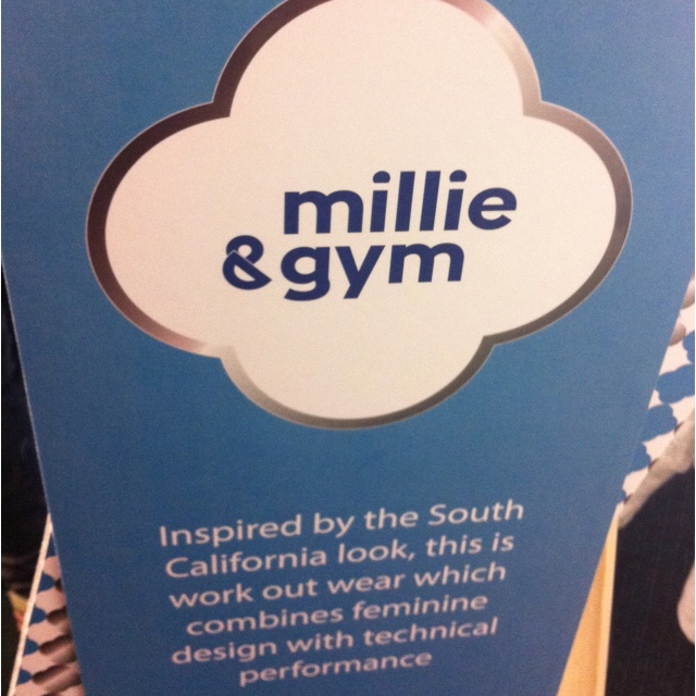 Millie & gym is a new Nike-esque(but cheaper) Californian label @lifestylesports