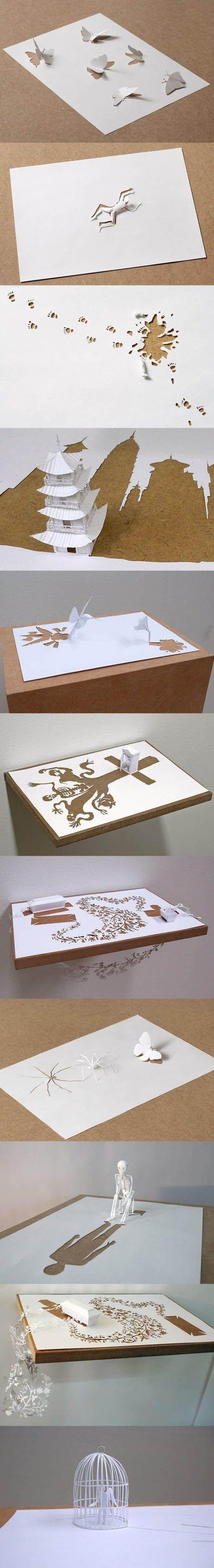 Paper art. So amazing.