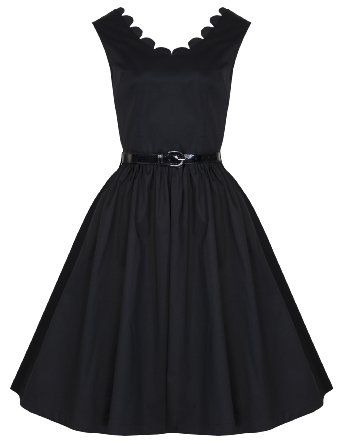 Lindy Bop 'Daria' Vintage 1950's Audrey Hepburn Style Swing Dress: Amazon.co.uk: Clothing