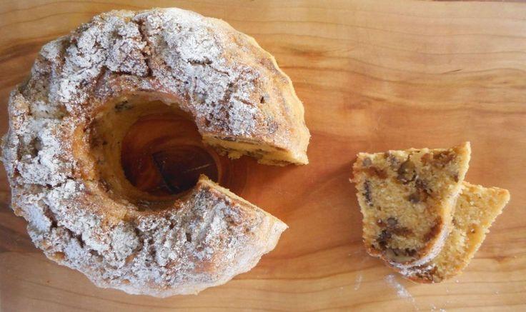 Stroopwafelcake met pecannoten
